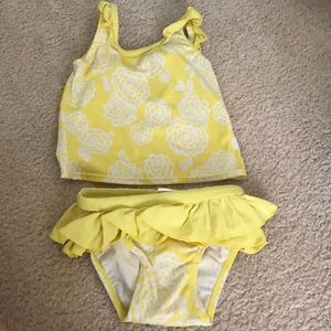 Girls old navy tankini